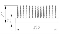 Радиатор для светодиодной матрицы своими руками
